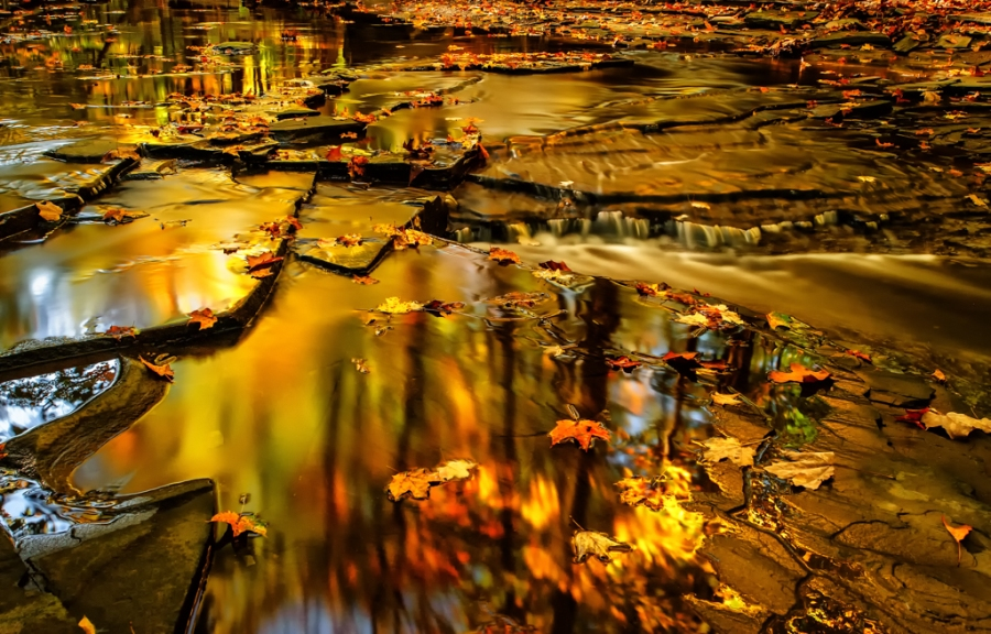 FALL REFLECTION, OHIO 1
